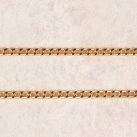 """(P-3) CHAIN,30"""" GOLD PLATED"""