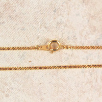 """(P-5) CHAIN, 18"""" FINE, GOLD PLATED"""