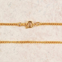 """(P-57) CHAIN, MED, 18""""GOLD PLATED"""