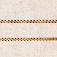 """(P-6) CHAIN, 24"""" HEAVY GOLD PLATED"""
