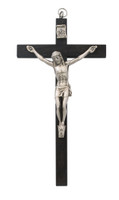 "(94-37) 5"" BLACK WOOD CRUCIFIX"