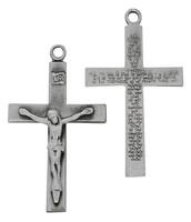 (D8080) PEWT LORDS PRAYER CRUCIFIX