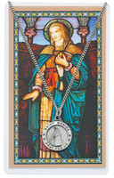 (PSD600MN) ST MONICA PRAYER CARD SET