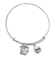 (BN639L) H.S. PRAYER BOX BANGLE BRACELE