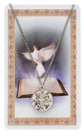"""(PSD769) 24"""" RCIA MEDAL & PRAYER CARD"""