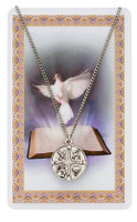 "(PSD768) 18"" RCIA MEDAL & PRAYER CARD"