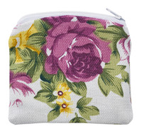 (RP1) FLOWER ROSARY POUCH