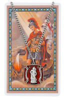 (PSD763) ST FLORIAN PRAYER CARD SET