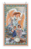 (PSD700GA) GUARDIAN ANGEL PRAYER CARD SET