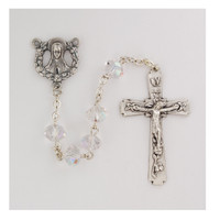 (P353C) CRYSTAL ROSARY