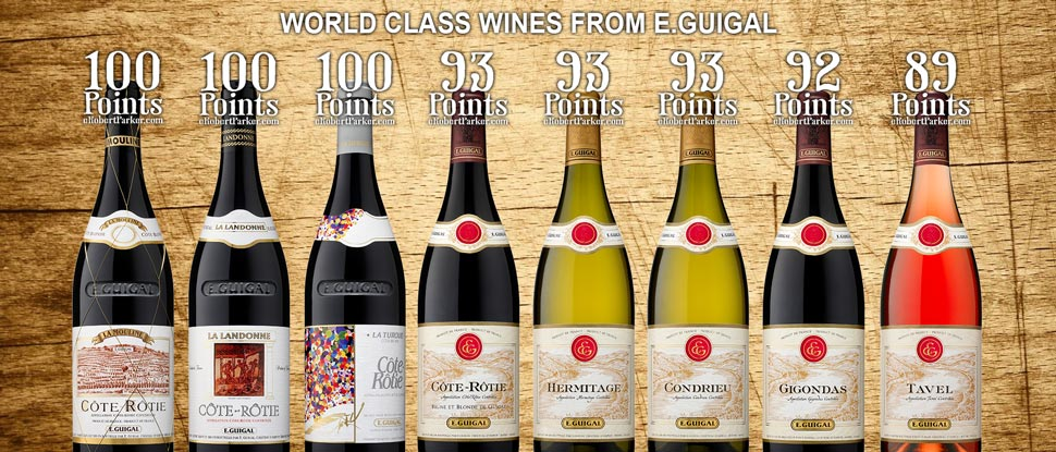 World Class Wines from E.Guigal