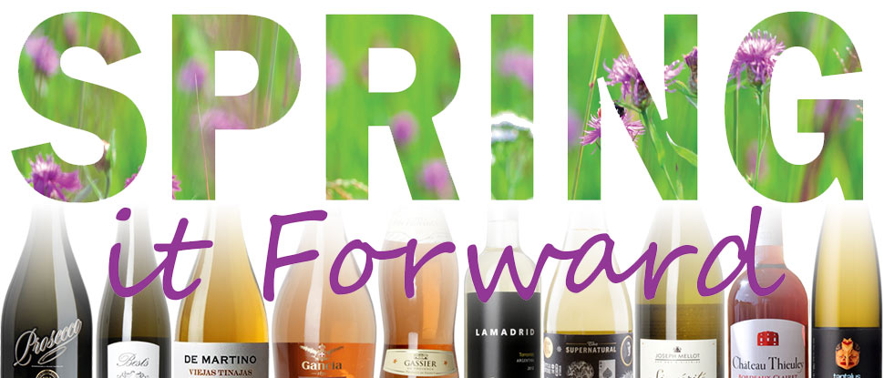Spring it Forward! Our favourite Spring wines paired with herbs!