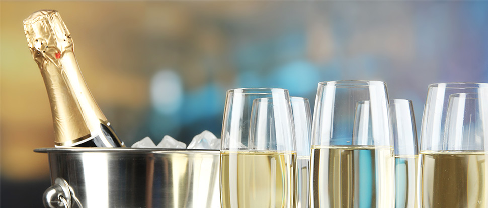 Champagnes and Sparkling Wines to suit all budgets and tastes!