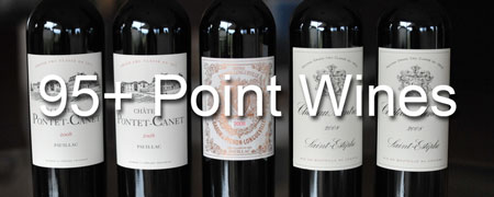 95+ Point Wines!