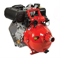 Rugged Firefighter® fire pump powered by a Yanmar® diesel engine.