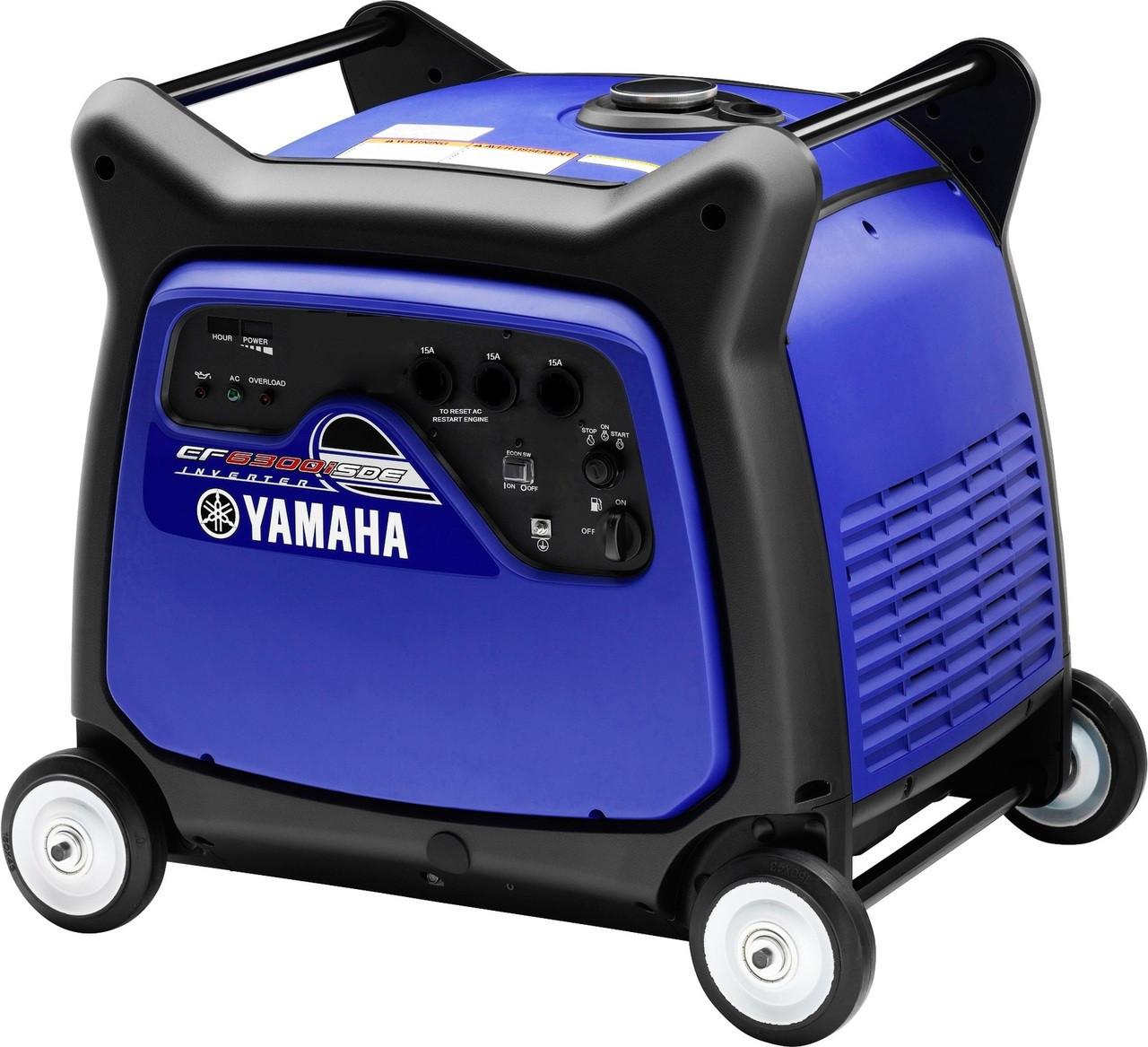 Yamaha ef6300ise 6 3 kva inverter generator haughton honda for Yamaha inverter generator vs honda