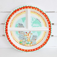 Baby Cie Sectioned Plate