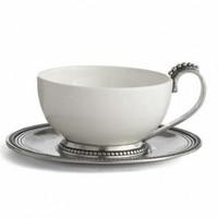 Arte Italica Perlina Cup and Saucer Set