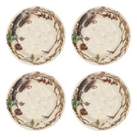 Juliska Forest Walk Salad/Party Plates
