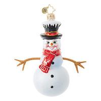 Christopher Radko Twiggy Snowman