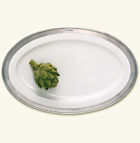 Match Convivo Oval Serving Platter