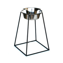 Pyramid XL Single-Bowl Raised Dog Feeder