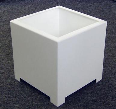 Alora Square Metal Outdoor Planter 10x10x10