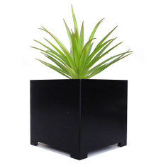 Alora Square Metal Outdoor Planter 14x14x14