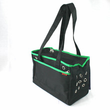 Prefer Pets Urban Pet Tote - Green Trim