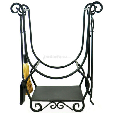 Wood Holder With Tools