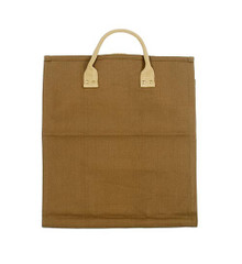 Open End Log Carrier - Brown