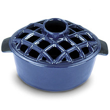 2.2 Quart Lattice Steamer - Blue