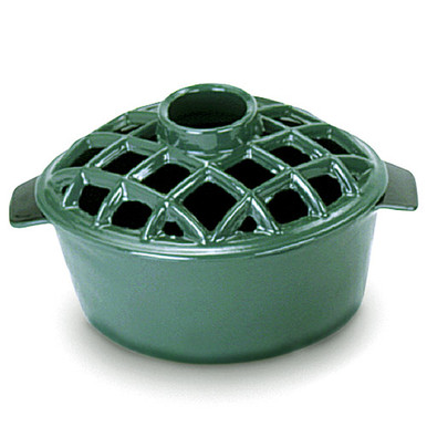 2.2 Quart Lattice Steamer - Green