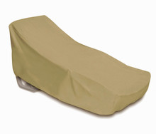 Two Dogs Oversized Chaise Cover - Khaki