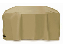 "Two Dogs 88"" Cart Style Grill Cover - Khaki"