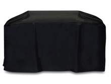 "Two Dogs 88"" Cart Style Grill Cover - Black"