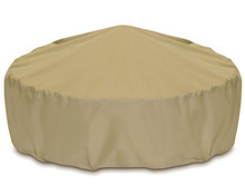 "Two Dogs 80"" Fire Pit Cover - Khaki"