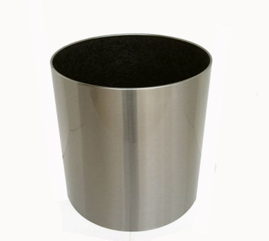 Knox Stainless Steel Cylinder Planter 18x18x18