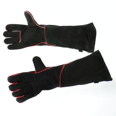 """20"""" Fireplace Gloves - Black"""