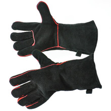 "13.5"" Fireplace Gloves - Black"