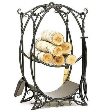 Fireplace Hearth Rack & Tool Set