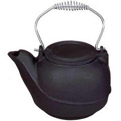 5-Quart Cast Iron Kettle Steamer