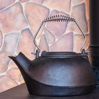 3-Quart Cast Iron Kettle Steamer
