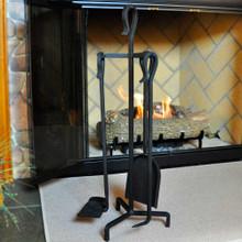 4-Piece Mini Fireplace Tool Set