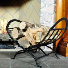 Interior Wrought Iron Foldable Log Rack