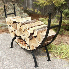 "69"" Curved Log Rack"
