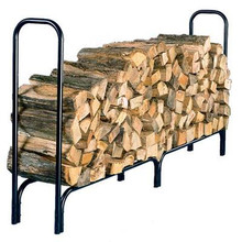 "87"" Tubular Steel Log Rack"