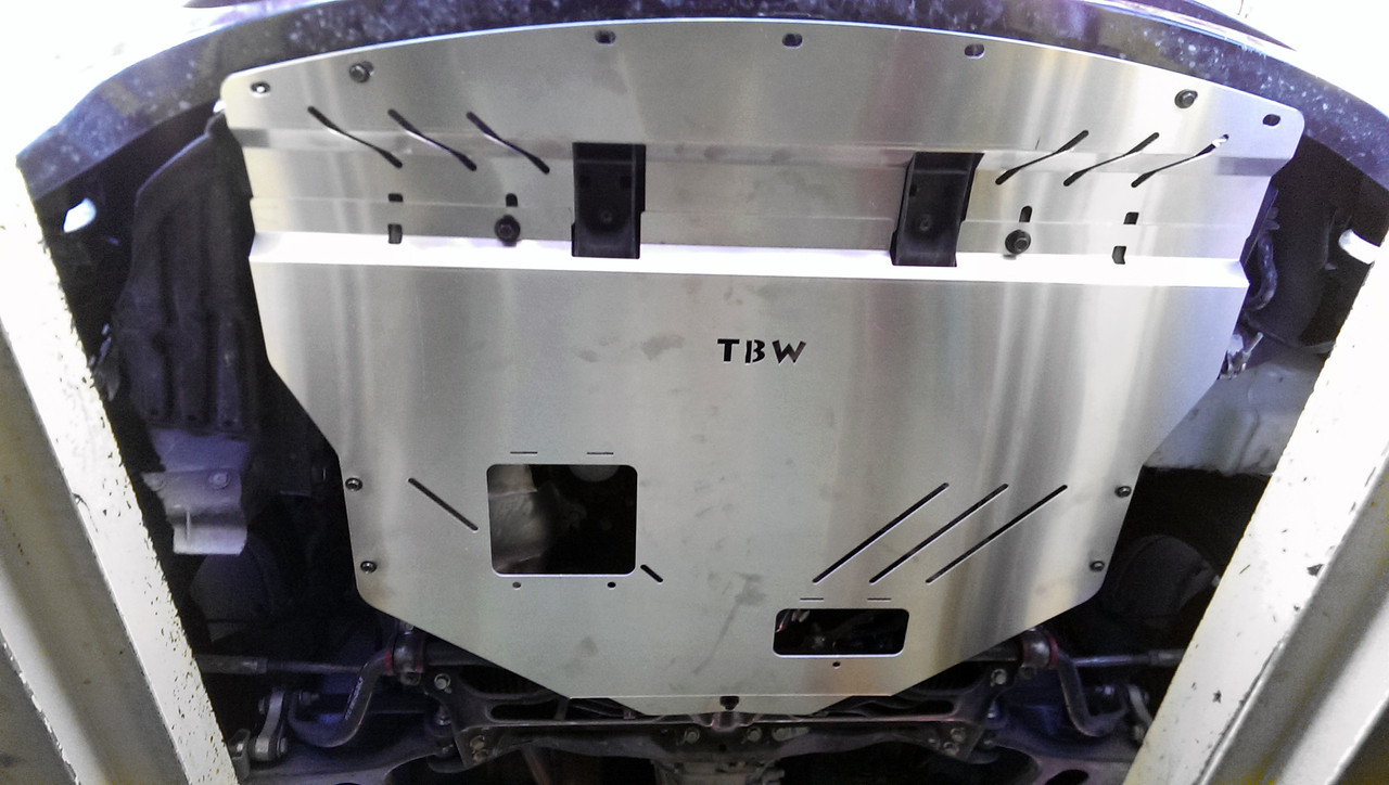 Tbw Aluminum Splash Shield Skid Plate For Wrx Amp Sti