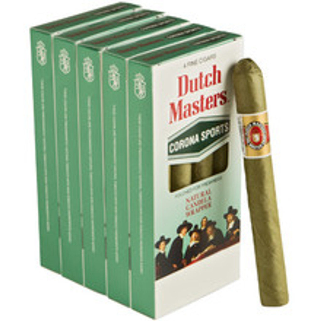 Dutch Masters Corona Sports Honey Cigars (5 packs of 4) - Candela