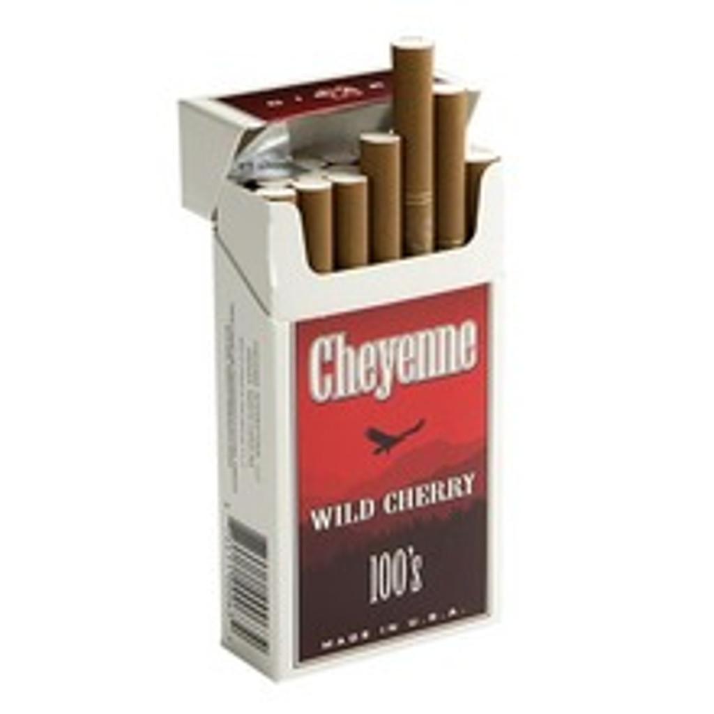 Cheyenne Filtered Wild Cherry Cigars (10 Packs of 20) - Natural